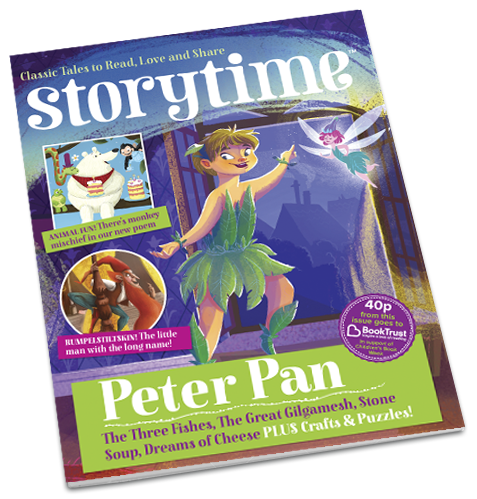 Storytime magazines Issue 11, starring the wonderful Peter Pan is out now! ~ STORYTIMEMAGAZINE.COM