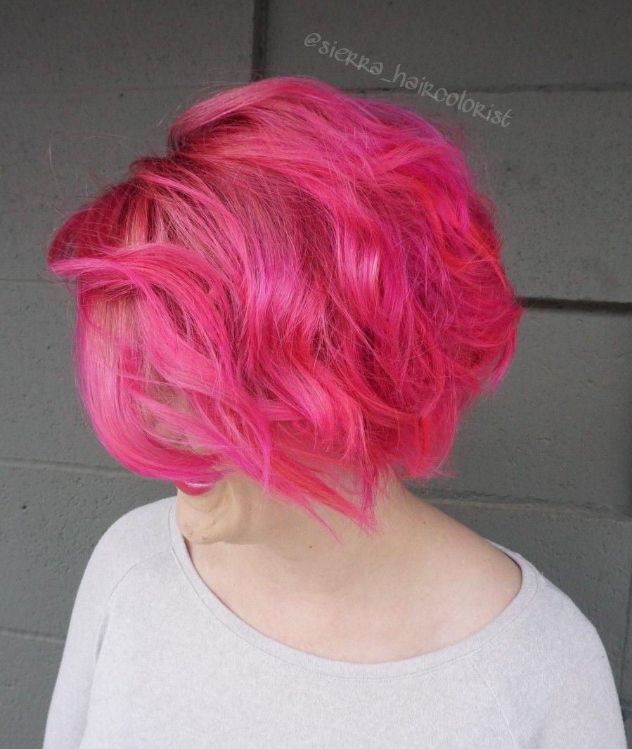 Hot Pink Hair Pulpriot Pulp Riot Hair Color Sierrahaircolorist