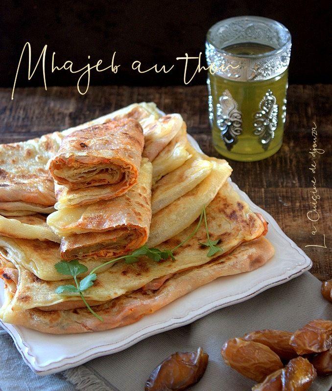 La Cuisine De Djouza: Msemen Farci Au Thon