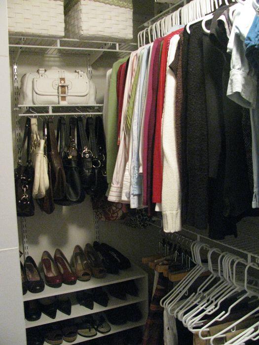Closet · Hanging Purses.