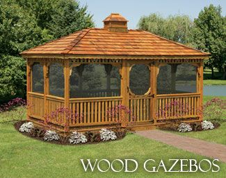 barnco woodworks can create a custom gazebo or custom shed in cherry hill new jersey - Diy Entfernbarer Backsplash