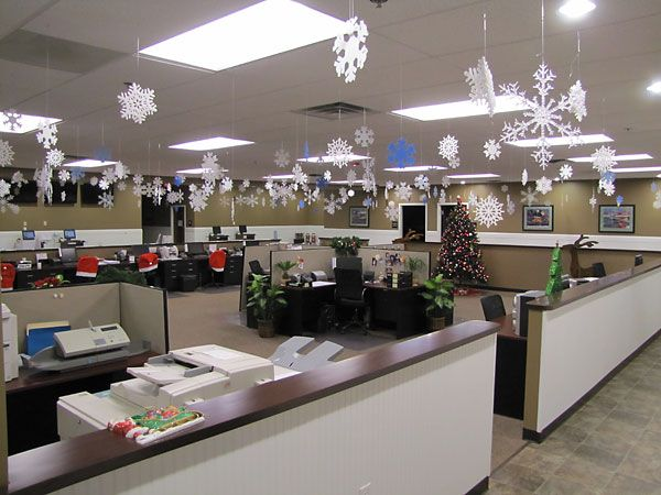 christmas office decorations google search - Christmas Office Decorations
