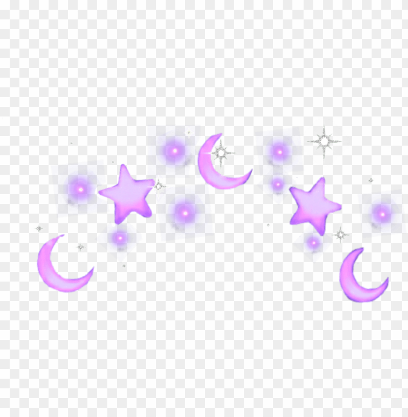 Crown Splash Moon Purple Stars Tumblr Transparent Yellow Aesthetic Png Image With Transparent Background Png Free Png Images Yellow Aesthetic Png Images Png