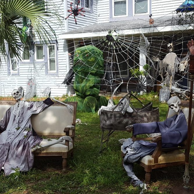 60+ Amazing Outdoor Decor Ideas For Halloween Party Halloween
