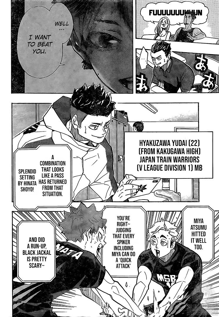 Haikyuu Chapter 385 Read Haikyuu Manga Online In 2020 Haikyuu Manga Haikyuu Anime Haikyuu Funny