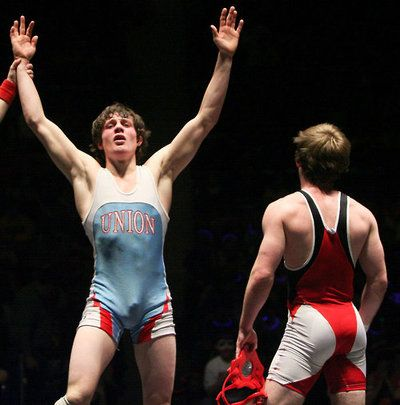 Wrestlers why boners do get PHOTOS: Straight
