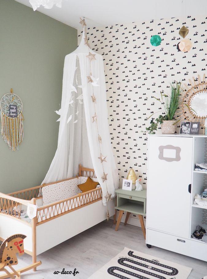 Une chambre de bébé (avant/après) | That Mushroom Lamp (Heico and ...