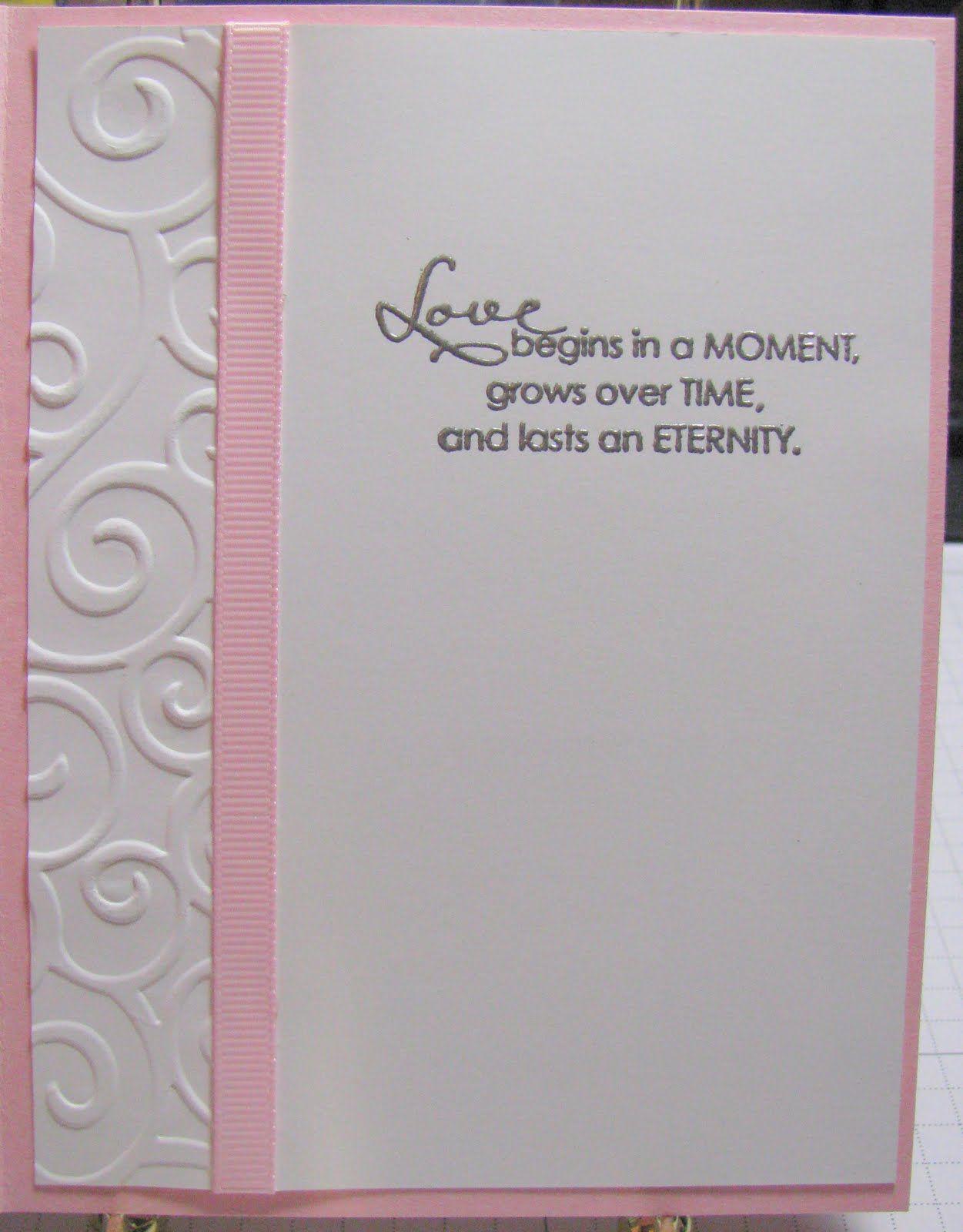 wedding cards stacys stampin spot wedding shower card