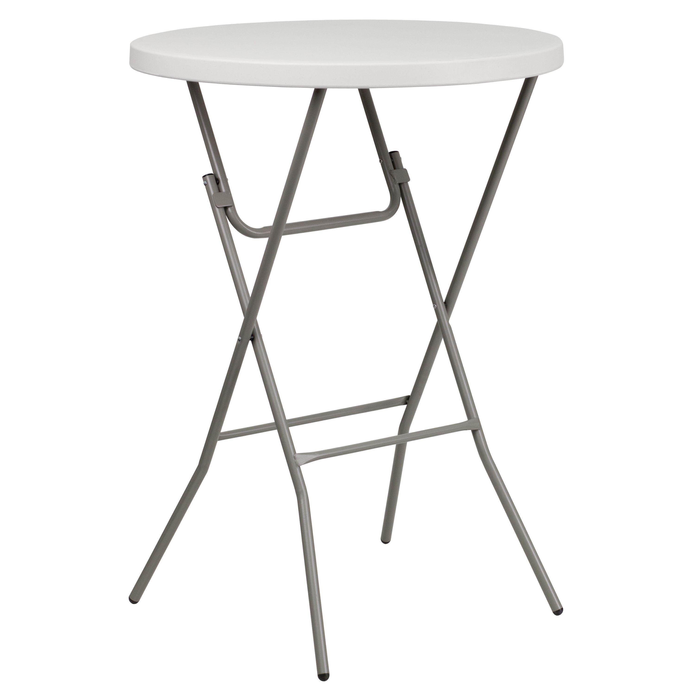 Plastic Bar Height Folding Table