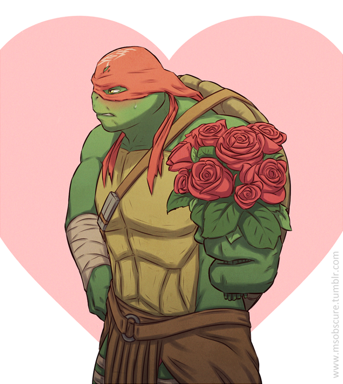Happy Valentines Day By Msobscure On Deviantart Teenage Mutant