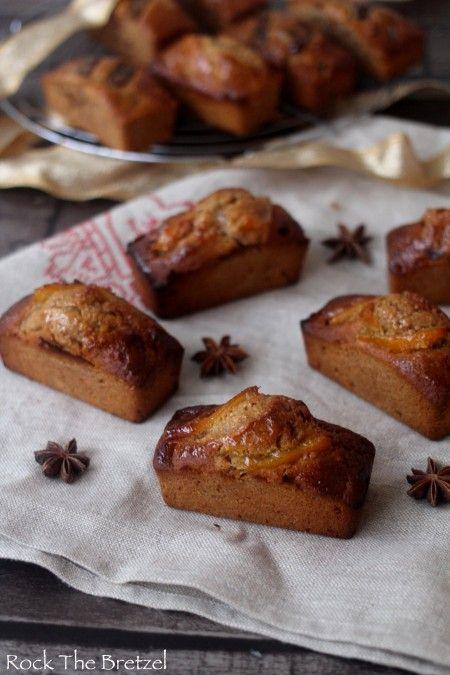 Mini pain d'épices orange macadamia150