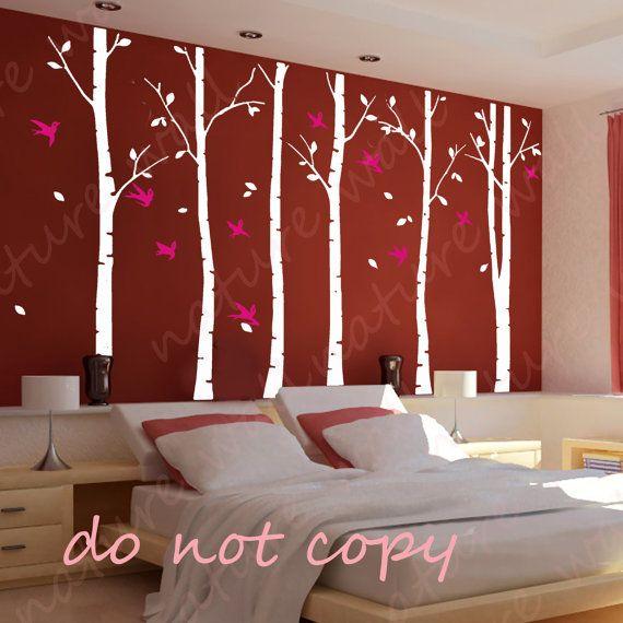 arbre autocollants for t autocollants stickers muraux. Black Bedroom Furniture Sets. Home Design Ideas