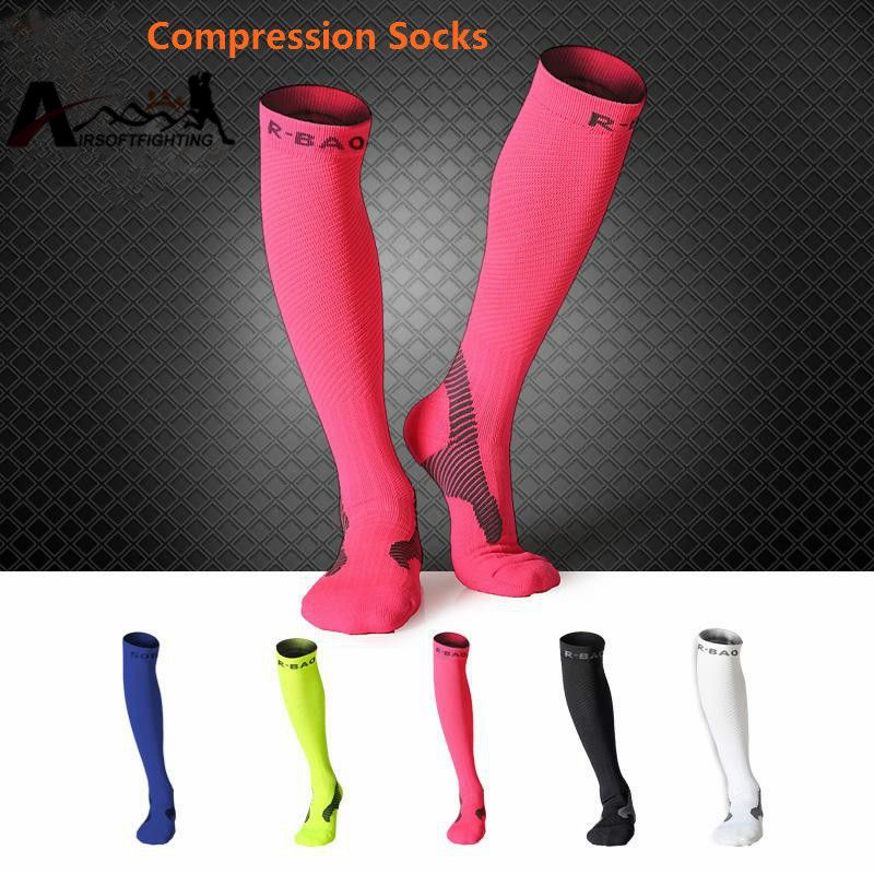 25e45340649 R-BAO Outdoor Sports Socks Professional Cycling Running Marathon Socks  Compression Stockings For Men Women Click visit to check price