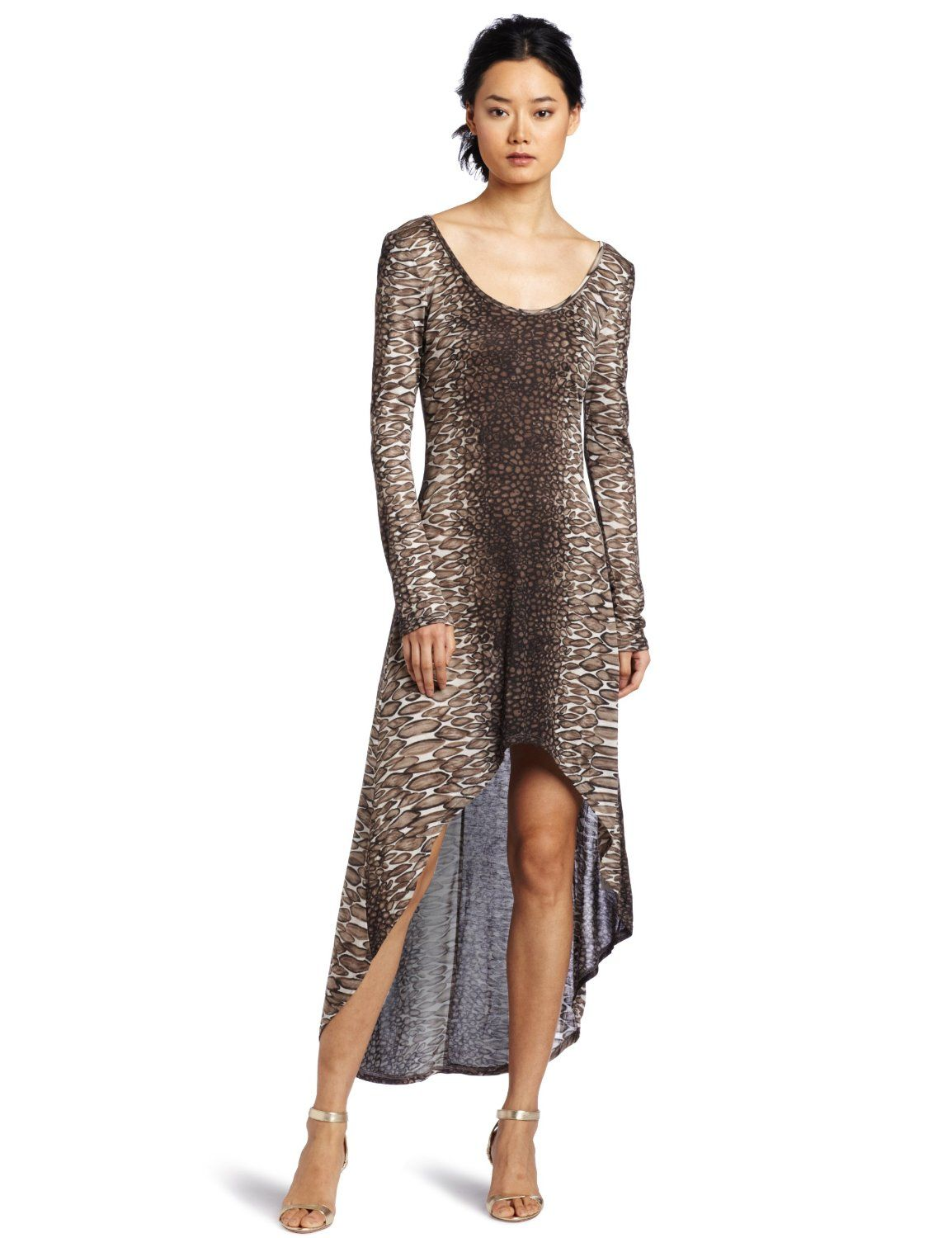 Romeo juliet couture womenus high low animal dress must haves