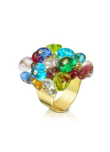 Antica murrina rubik anillo cristal murano divertido y original pinterest murano - Anillo cristal murano ...