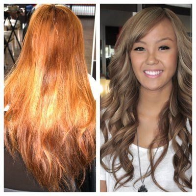 blonde hair color ash light brown over orange ash brown over orange hair google search hair brassy