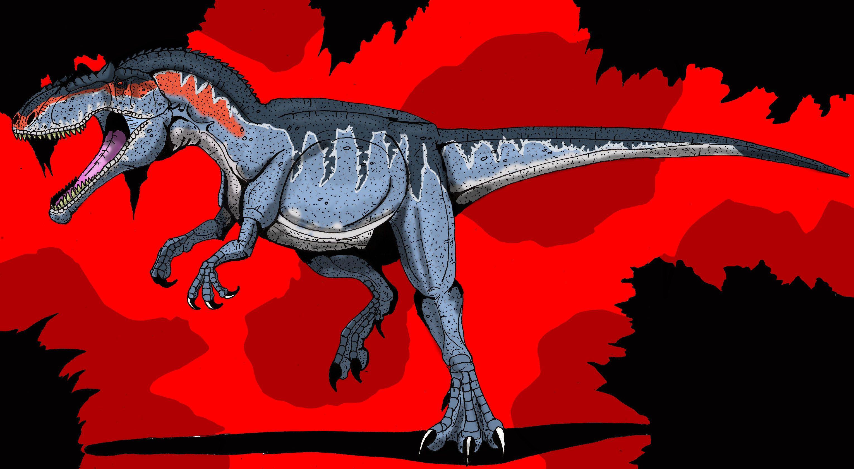 Jurassic park card 3 by chicagocubsfan24 on deviantart - Jurassic P Giganotosaurus By Hellraptor