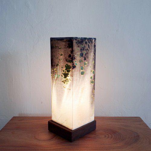 牧羊女彩繪藝術桌燈/沈靜(可客製)