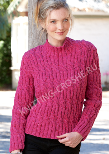 Вязать пуловер женский свитера