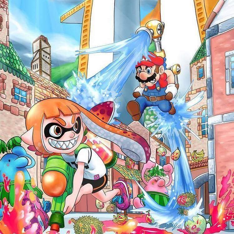 Super Mario Sunshine 2 Confirmed Supermario Squidgirl