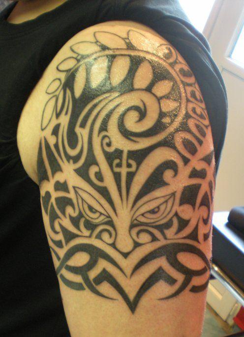 All Black Tatouage Epaule Homme Tatouage Epaule Tatouage Tribal