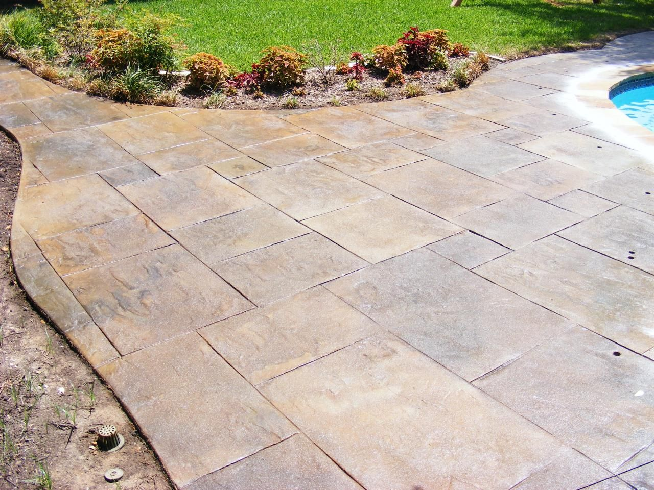 Patterns And Colors Stamped Concrete Stamped Concrete Stamped Concrete Patio Stamped Concrete Colors