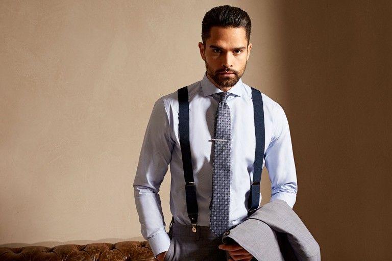 Soeren Fashion Anzug Tiger Of Sweden Eton Hemd Sieger Krawatte Tateossian Krawattennadel Blick Einstecktuch Hosentrager Trico Dave Bohm ファッションアイデア ファッション