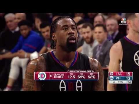Philadelphia 76ers vs Los Angeles Clippers Full Game 24 01 17