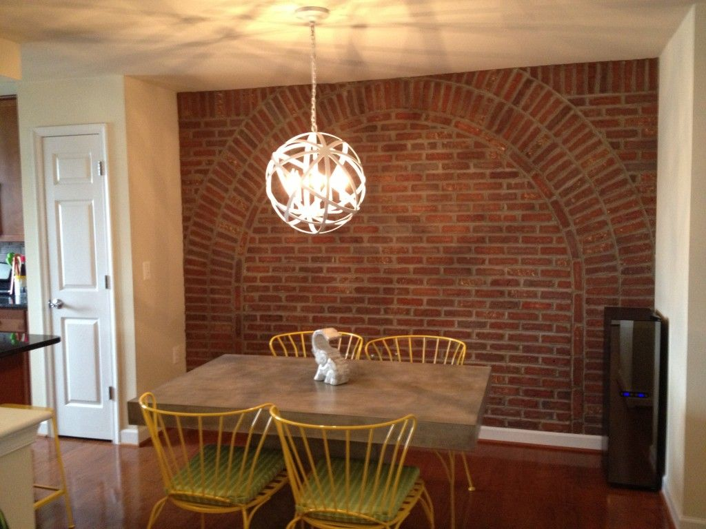 the brick condo furniture. This Week\u0027s Reader Submission Is From A Very Creative Stylish Patina Customer Who Decided She Wanted The Look Of Exposed Brick In Her Shirlington, VA Condo. Condo Furniture