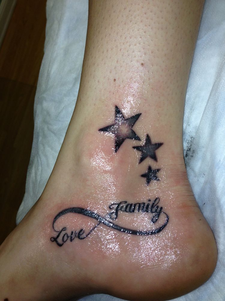 2fadb8305cbb9 Symbol For Family Tattoo, Family Tattoos, Group Tattoos, Tattoos With Kids  Names,