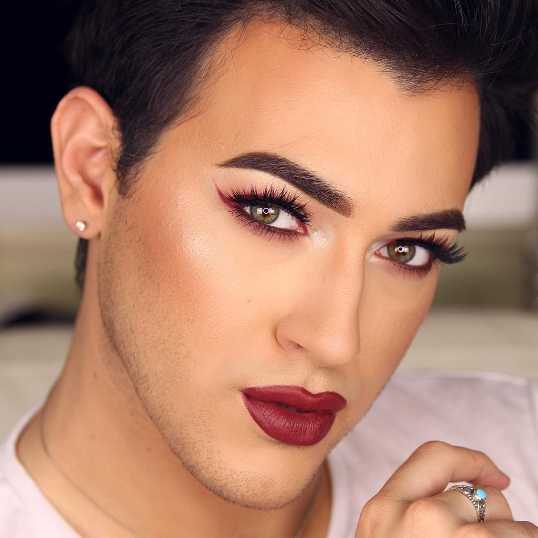 all burgundy red everything makeup manny mua matching
