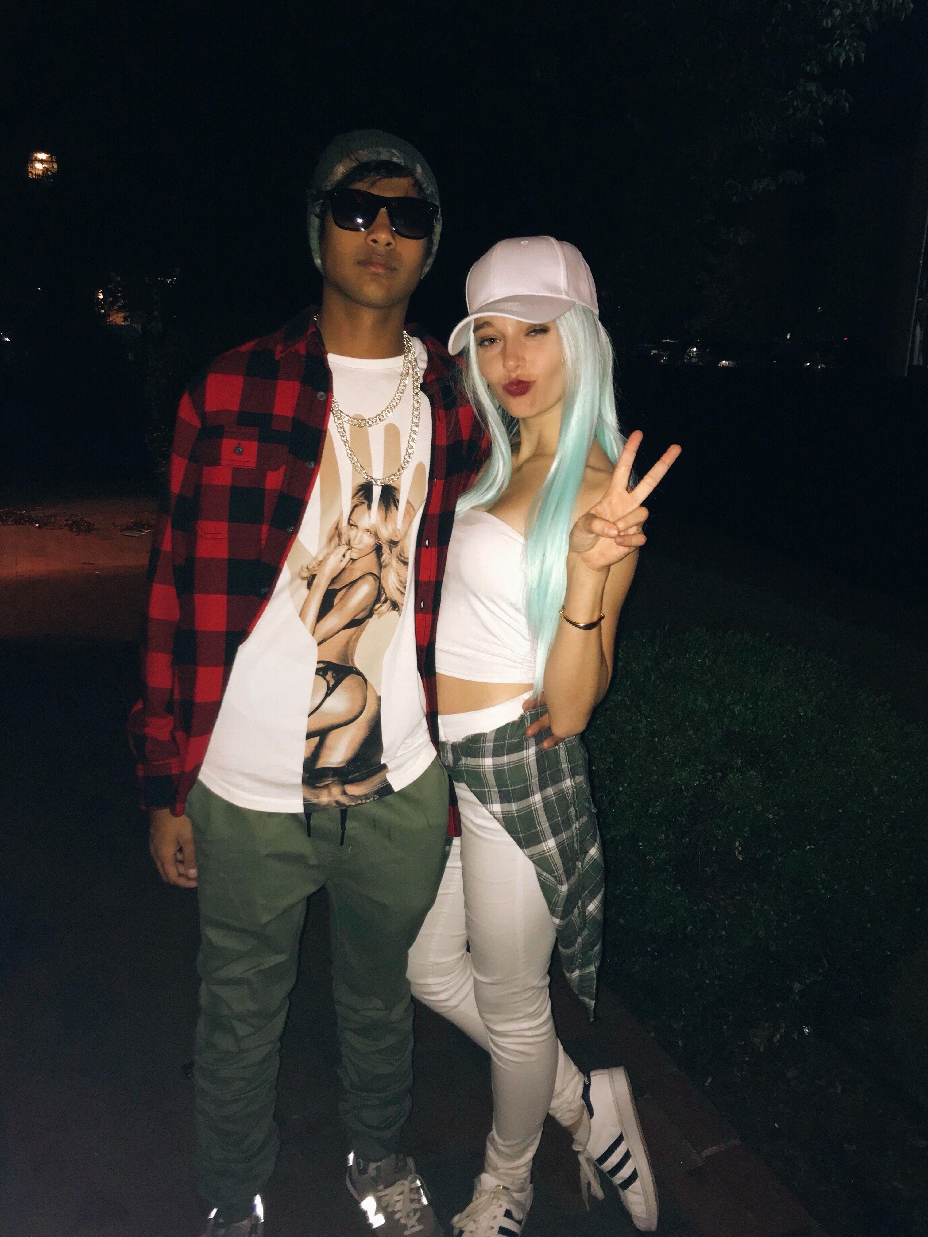 Couples Halloween costume ideas — Travis Scott & Kylie