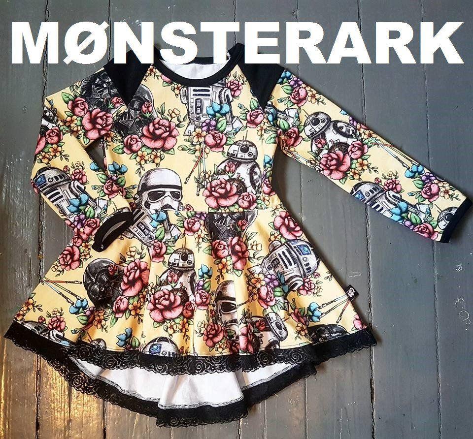 FORHÅNDSBESTILLING MØNSTERARK Peplum tunic with a twist child size 80-164