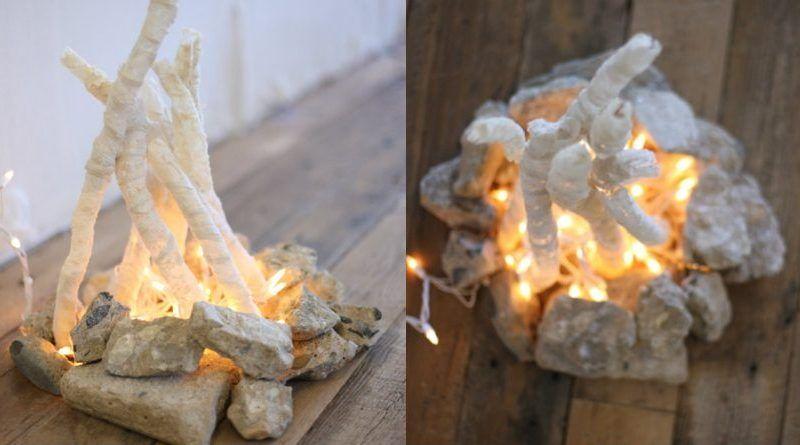 Como Hacer Una Hoguera Decorativa Sin Fuego Y De Manera Sencilla