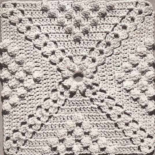 9a511dd75df01 Details about Vintage Crochet PATTERN to make Popcorn & Cluster ...