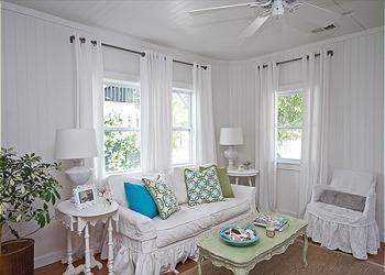 Vintage Beach Cottage Living Room Nook Beach Cottage Decor