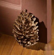 Decorative Door Stoppers decorative door stops pinecone DOOR IS