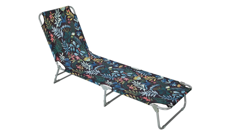 Folding Sunbed Rainforest Garden Chairs And Sun Loungers Argos