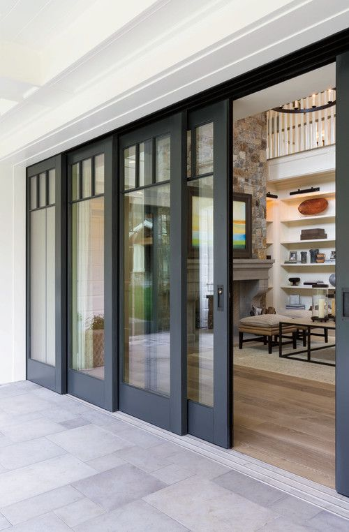 Bring The Outdoors In With Pella Architect Series Multi Slide Patio Doors By Pella Windows And Doors House Styles House Exterior New Homes