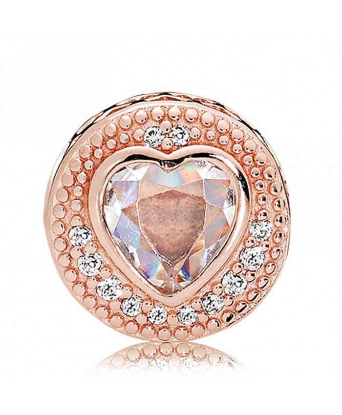 02e2fb267 Pandora Black Friday Essence Rose Gold Cz Compassion Charm win my love with  its nice color and beautiful heart!
