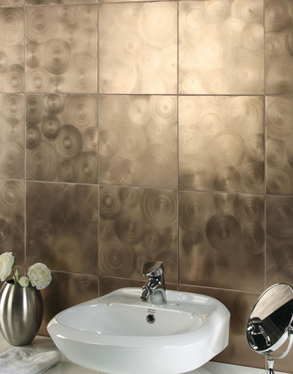 Metallic Bathroom Tile Designs From Evit  Walls  Pinterest Beauteous Bathroom Ceramic Wall Tile Design Decorating Inspiration