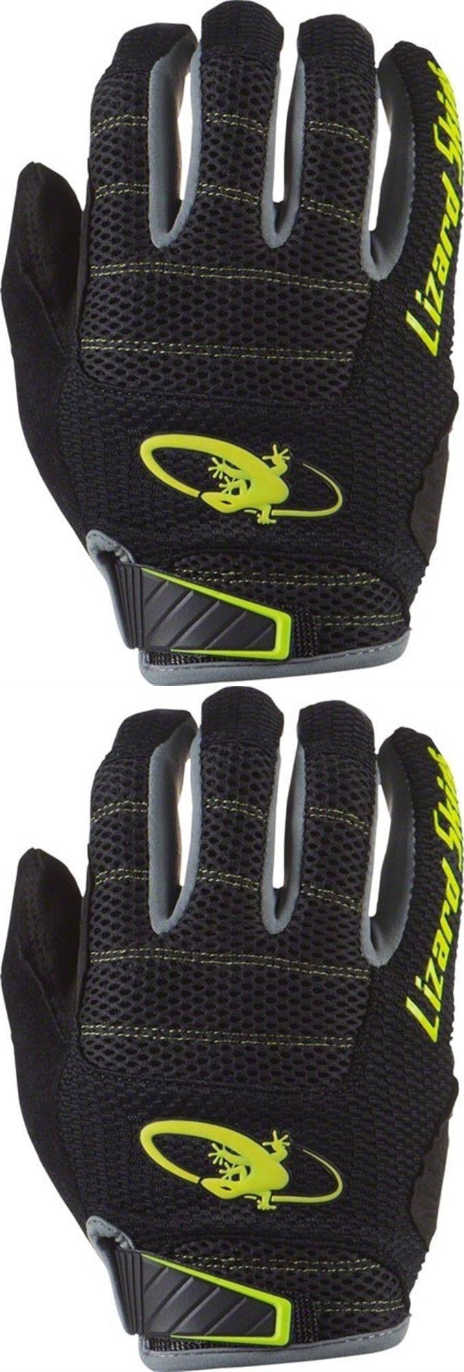 Gloves lizard skins monitor am gloves jet black neon sm