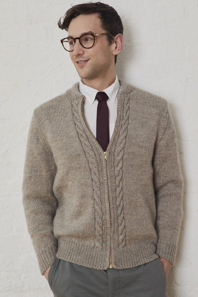 Free Men's Knitting Pattern for a Neighborly Cardigan – orguler