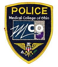 Medical College Of Ohio Toledo Campus Police Patch Police Patches Police Patches