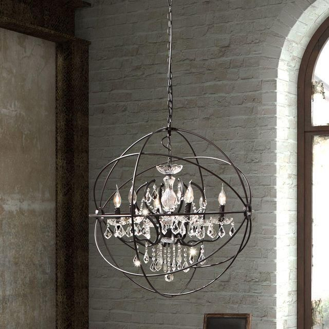Gyro Crystal Chandelier | Chandeliers and Crystals