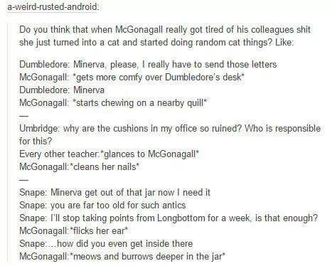 McGonagall is the best!!! Harry Potter Pinterest Harry - harry potter resume