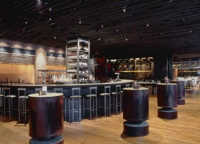 Modern Restaurant Design : Landmarc Restaurant by Clodagh
