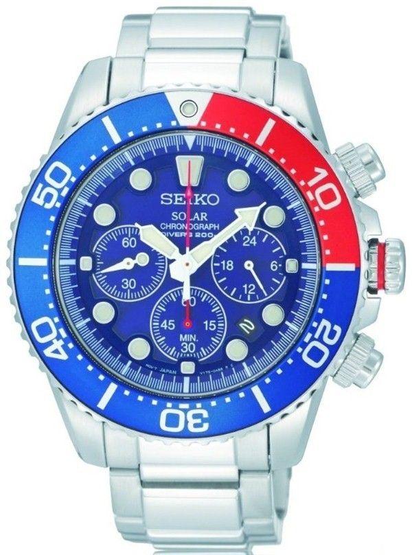 Seiko Men Watches Seiko Men S Ssc019 Solar Diver