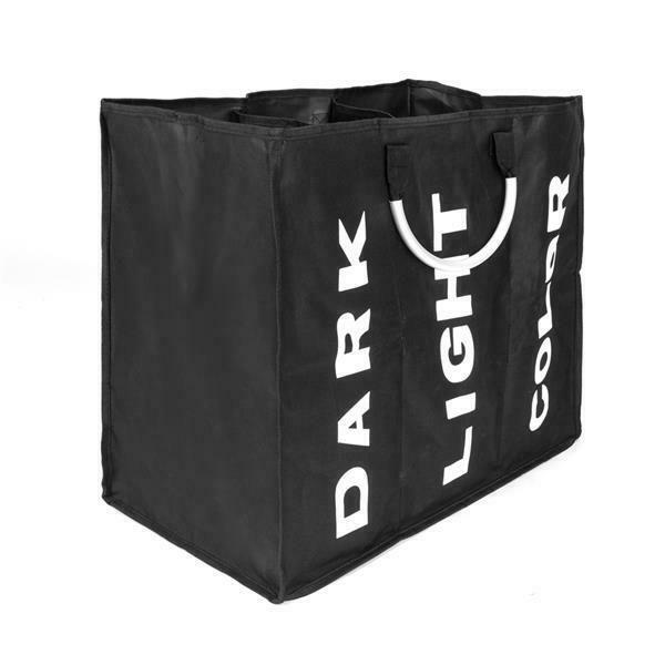 Large Capacity Foldable Laundry Basket Bin Hamper Storage Bags Washing Clothes