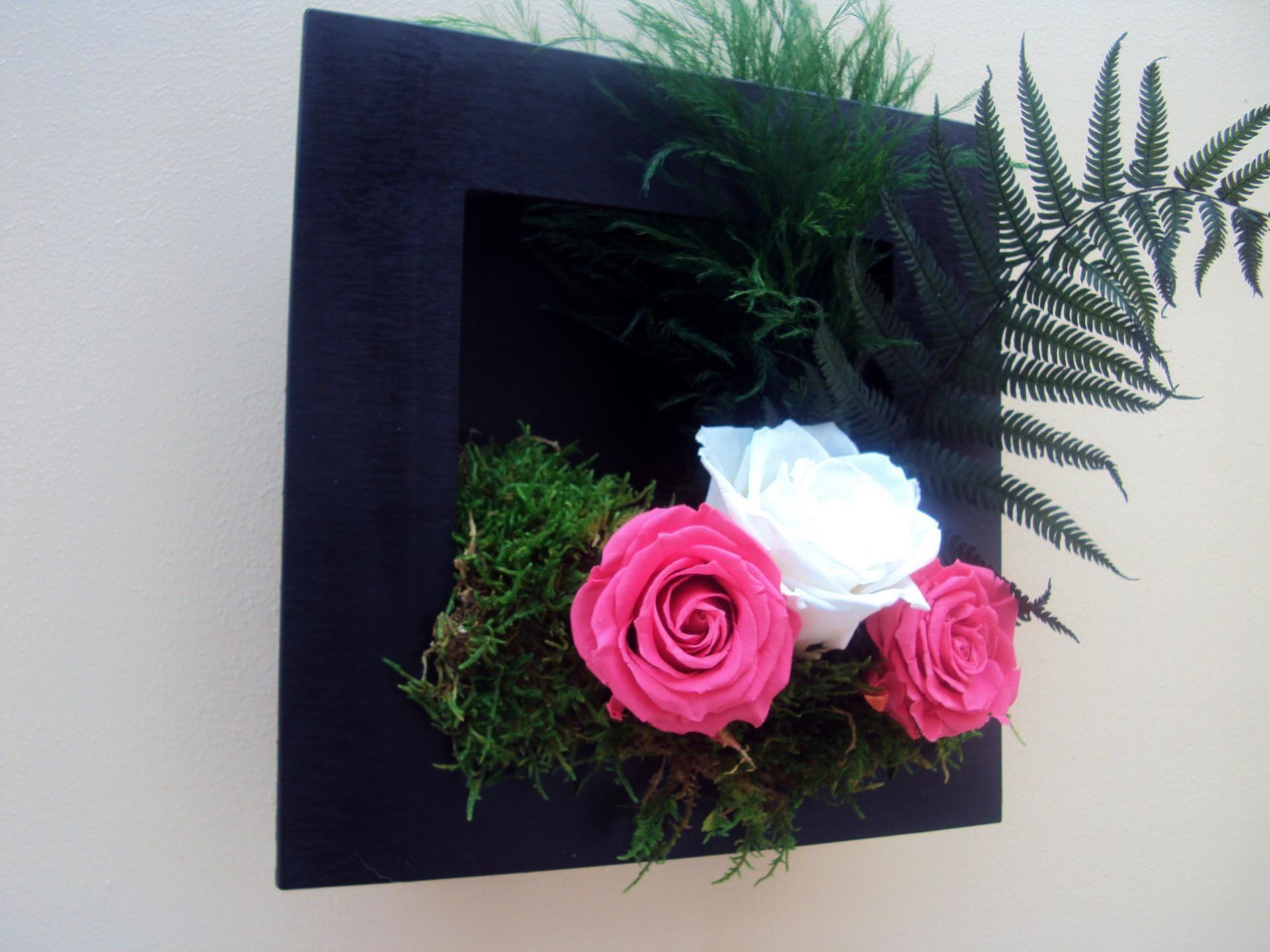 d coration murale tableaux et cadres r alis s avec des v g taux naturels ou fleurs. Black Bedroom Furniture Sets. Home Design Ideas